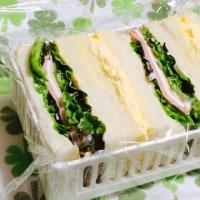 日曜はサンドイッチのお弁当