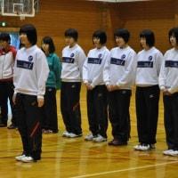 女子バレーボールチーム トライアウト行いました