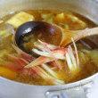 厚焼き玉子・五目ひじき煮・青菜びたし・油茄子のおつゆ・・・おっと弁