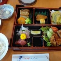 26.沖縄ホテルで松花堂弁当