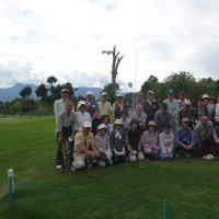 パークゴルフ親睦会の開催