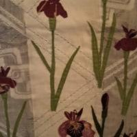 菖蒲と水鳥