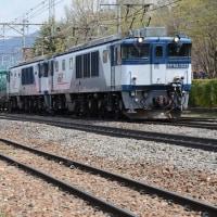 4月29日撮影 その6 南松本にて西線貨物8084レ