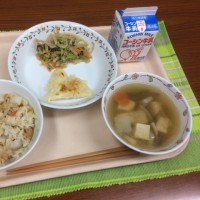 小松菜給食  11月24日