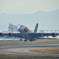 シンガポール航空 エアバス  A380の年末特別運航ですね〜