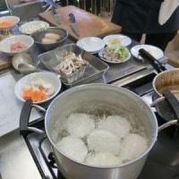 今年初の「料理教室」です!