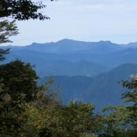 竜爪山 文殊岳から北アルプスの眺望も