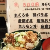 まんぷく食堂 500円丼 竜田おろし丼
