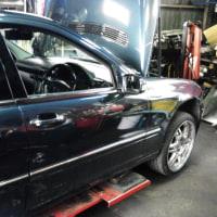 W203 ABS修理・・・
