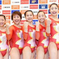 ★【体操団体メダル目指す女子】・・・・・・寺本、村上らリオ五輪代表