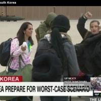 韓国にいる23万人のアメリカ人を避難させるため準備している  ドナルド・トランプ氏は、勇敢な道(Courageous Channel)という名前の訓練の一環として、韓国から米国民の避難を要請