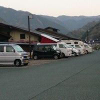 車中泊で一人旅(8)道の駅川根温泉で車中泊