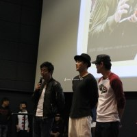 懐かしいね~(´-`*) クォン・サンウ、ソン・ドンイル『탐정 : 더 비기닝(探偵なふたり)』舞台挨拶ふふ^^
