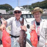 (6月16日キンメ釣果)イサキ出船
