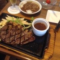 博多へゴー  ランチはハワアンステーキ