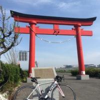 羽田空港の鳥居