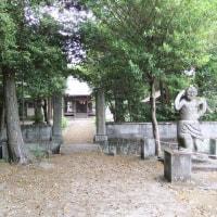 黒田官兵衛(如水)と戦勝祈願 3 中津若旗神社🉂