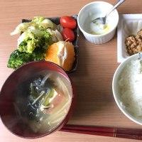 和食な朝ごはん