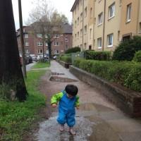 雨上がりのイースター