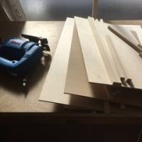 久々の木工作業・・・