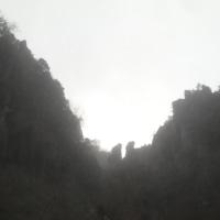 与呂見から大分へ −奇岩ー