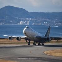 USP航空  B 747-400.     ジャンボは久しぶりですね〜