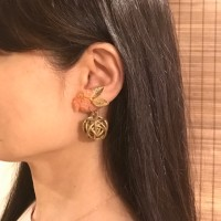 【色を変えるだけで大人っぽく】香珠codama〜世界でたった1つのアロマイヤリング〜精油付き♪