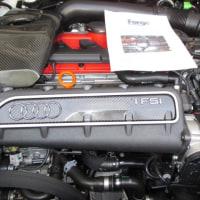 AUDI TTRSにFORGEリサーキュレーションバルブ取り付け。