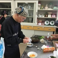平成29年3月度男の料理教室