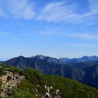 残秋の北アルプス・笠ヶ岳②