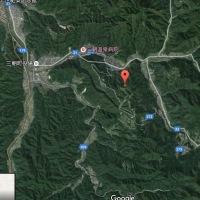 to鳥取中部地震震源地付近かな?