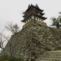 洲本城跡の石垣を視る「天守台の石垣」