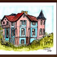 ブルガリア・ルーマニア旅行シリーズ その40 プロヴディフ(ブルガリア)旧市街の建物