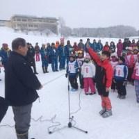 小学校低学年スキー大会