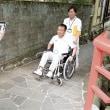 障害者に優しい伊豆へ 温泉街の通路、車いすで調査