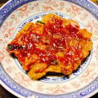 牡蠣のお好み焼き☆
