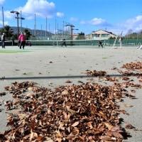 今日「テニス」です