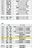 東海社会人サッカーリーグDivision2 ベスト11