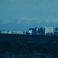 びわ湖湖北遠望