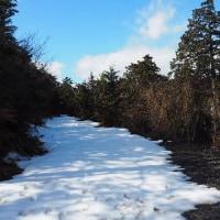 2017年2月25日 雪解けの奥島山、長命寺山で琵琶湖の眺望を楽しむ