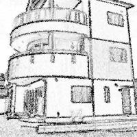 重量鉄骨造3階建て(約150坪)+付帯工事;大竹市