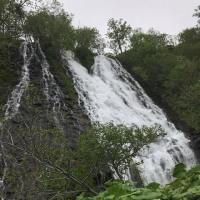 2017 北海道 知床オシンコシンの滝 ーー水しぶきを浴びるーー