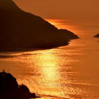 来島海峡の朝
