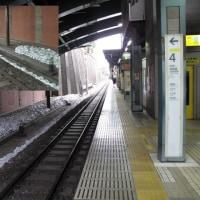 四ツ谷駅線路脇の白い雪・謎の解決