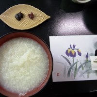 温泉粥(長野県白骨温泉)