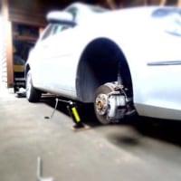 夏タイヤにタイヤ交換しました。
