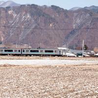 今日の大糸線(2月19日)