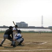 本日の第二弾 ~少年野球春大会一回戦~