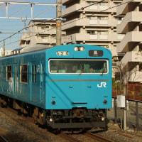 2016年12月6日 阪和線 堺市  103系 846 HK607編成