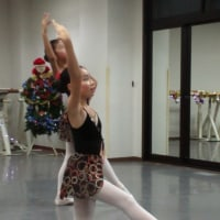 バレエのクリスマスミニ発表会